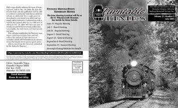 June 2005 - Roanoke Chapter National Railway Historical Society
