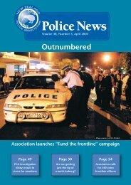 Police News April 05.indd - New Zealand Police Association