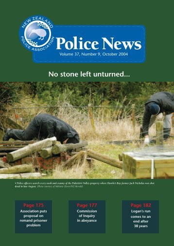 Police News Oct.indd - New Zealand Police Association
