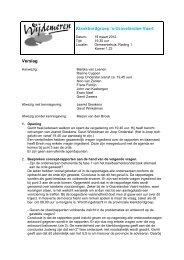 Verslag vergadering klankbordgroep op 19 maart 2012 - Gemeente ...