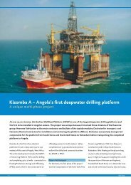 Angola's first deepwater drilling platform - Dockwise Yacht Transport