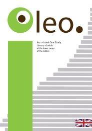 leo. – Level One Study - Grundbildung und Beruf