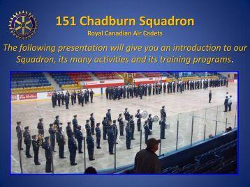 151 Chadburn Squadron RCACS