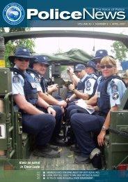 Police News Aprr 07.indd - New Zealand Police Association