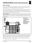 Installation Guide - ProSTEP Effluent Pump Packages - Page 3