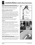 Installation Guide - ProSTEP Effluent Pump Packages - Page 6