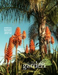 ANNUAL REPORT - Water Conservation Garden