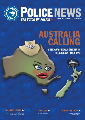 2012-08 - New Zealand Police Association