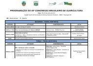 programação do 50º congresso brasileiro de olericultura - ABH