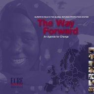 The Way Forward - Welsh Refugee Council