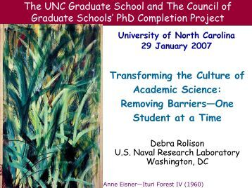 Title IX - Graduate School