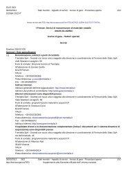 Avviso di gara (.pdf 154 KB ) - Gare di Trenitalia