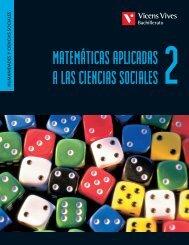 Matemáticas aplicadas a las ciencias sociales 2 - Vicens Vives