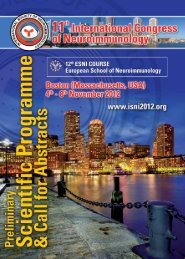 preliminary scientific programme & call for abstracts - International ...