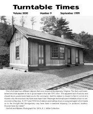 September 1999 - Roanoke Chapter National Railway Historical ...