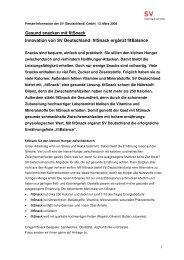 Medienmitteilung (PDF) - SV (Deutschland)