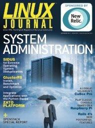 Linux Journal | November 2013 | Issue 235