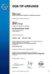 2010_bis_2013_TIP_Zertifikat_01 (PDF) - SV (Deutschland)