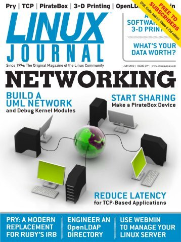 Linux Journal | July 2012 | Issue 219