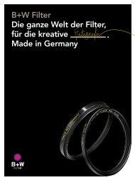 B+W Filter Katalog 2015
