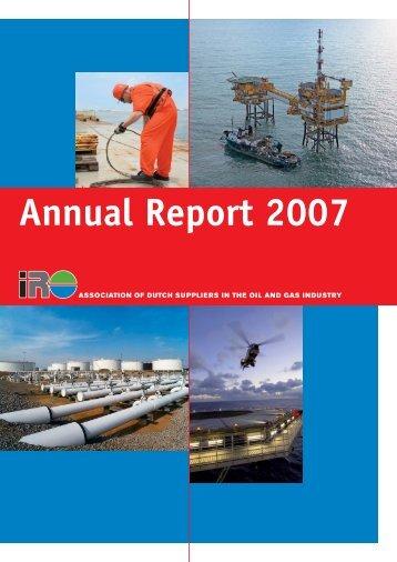 Annual Report 2007 - IRO