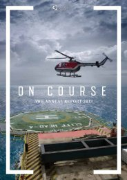 AWE's 2013 Annual Report