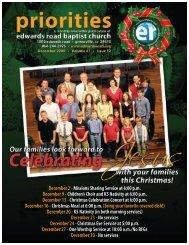 December 2 - Edwards Road Baptist Church