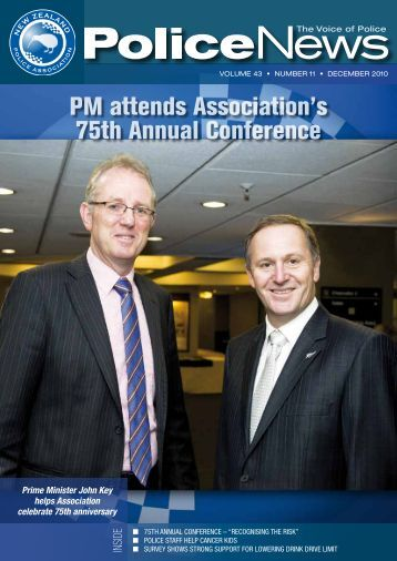 PM attends Association's 75th Annual Conference - New Zealand ...