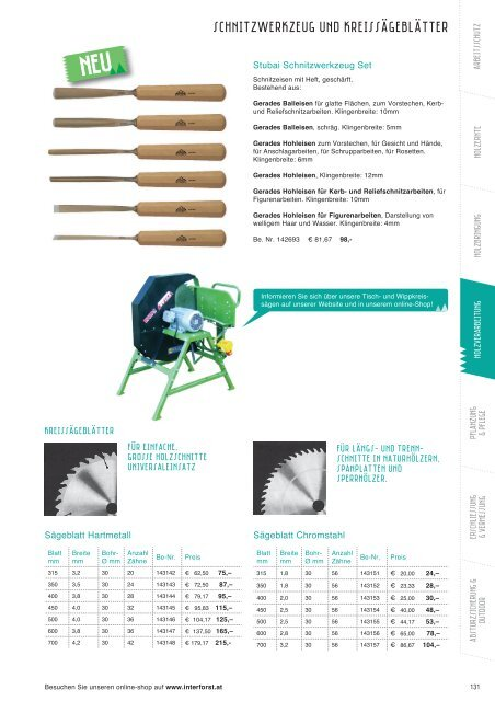 Interforst Holzverarbeitung 2015/2016