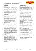 DHL Produktspecifika uppdragsvillkor inrikes - Page 4