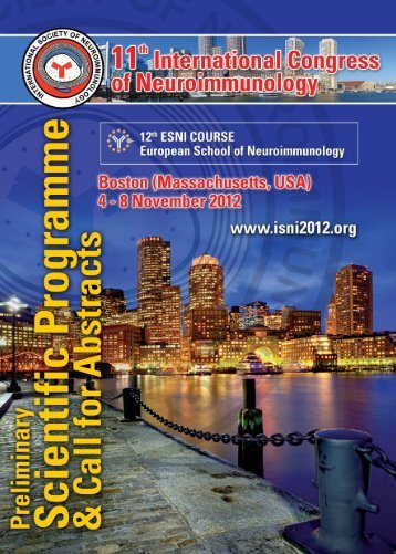 Call for abstracts - (ISNI) 2012
