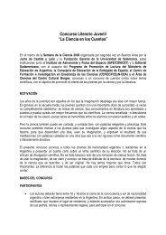 Concurso La Ciencia en los Cuentos - Instituto Argentino de ...