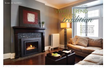 When Trend Meets Tradition - Chuck Mills Residential Design and ...