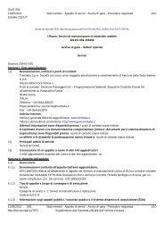 Avviso di gara (.pdf 169 KB ) - Gare di Trenitalia