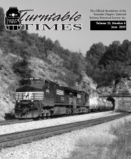 June 2003/exp - Roanoke Chapter National Railway Historical Society