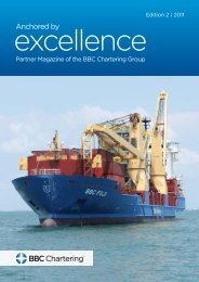 Excellence, 2d Edition - BBC Chartering