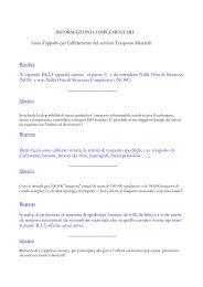 Risposte ai quesiti al 07-04-08 (.pdf 74 KB ) - Gare di Trenitalia