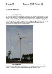 Bilaga 19 – Teknisk beskrivning - Bergvik Skog informerar om vindkraft