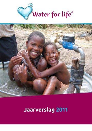 Water for Life jaarverslag 2011 - Evides