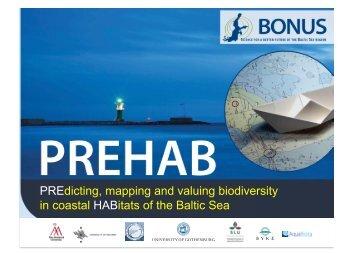 Prehab presentation at Bonus Forum