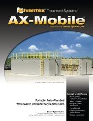 AdvanTex AX-Mobile Treatment Systems