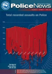 Total recorded assaults on Police - New Zealand Police Association