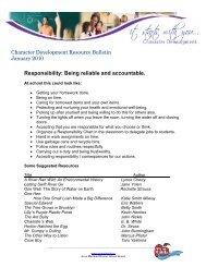 January - Seaforth Public School - Avon Maitland District School Board