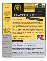 June Newsletter - Greater Mount Airy Chamber of Commerce