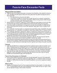 Face-to-Face Encounter Fact Sheet - Centuranews.org - Page 2