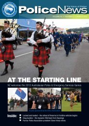 AT THE STARTING LINE - New Zealand Police Association