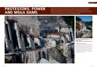 Protestors, Power and mega dams - Relay