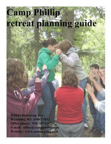 Camp Phillip retreat planning guide