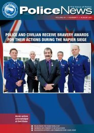 Police and civilian receive bravery awards for their - New Zealand ...