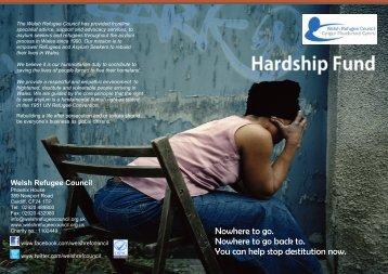 Hardship Fund - Welsh Refugee Council